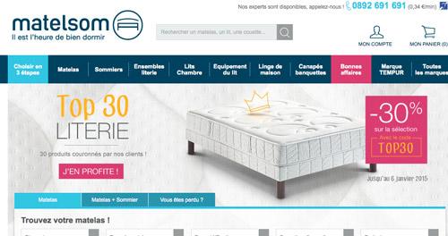 code promo matelsom reduction soldes 2018. Black Bedroom Furniture Sets. Home Design Ideas