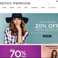 Code promo Dorothy Perkins réduction soldes 2018