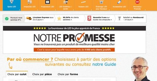 Code promo Ledhut reduction soldes 2018
