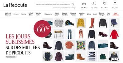Code promo La Redoute reduction soldes 2018