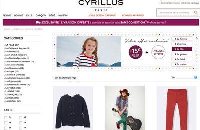Code promo Cyrillus réduction soldes 2019
