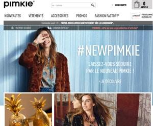 Code promo Pimkie réduction soldes 2018
