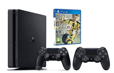 Pack PS4 Slim 500 Go + Fifa 17 prix pas cher en promotion sur internet