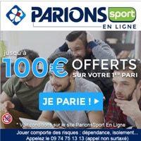 Code promo Parions Sport bonus 2018