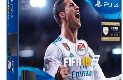 Pack PS4 Slim noire 500Go + Fifa 2019 prix pas cher en promotion