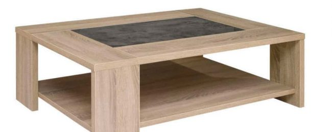 Table Basse Fumay pas cher promotion Conforama